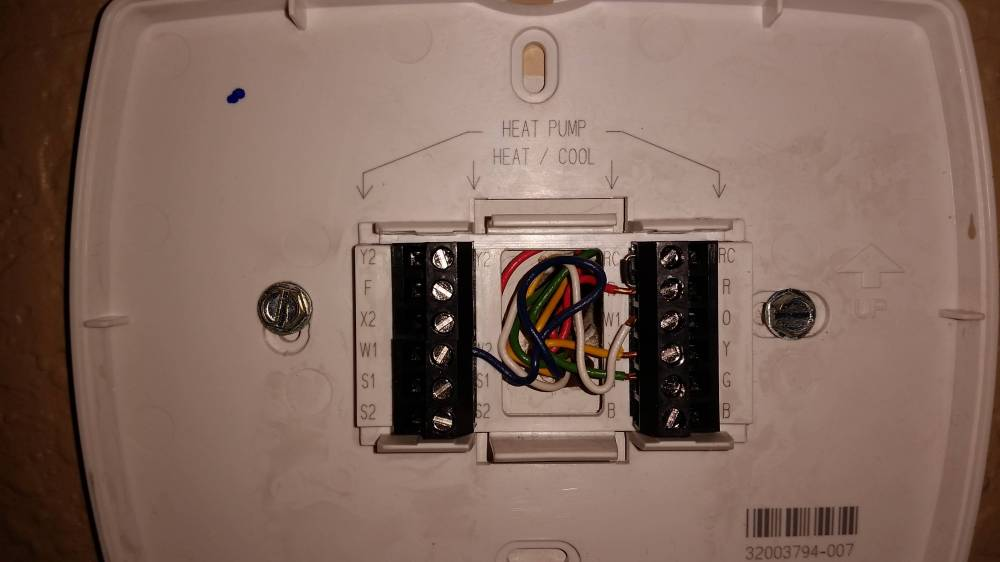 medium resolution of old thermostat