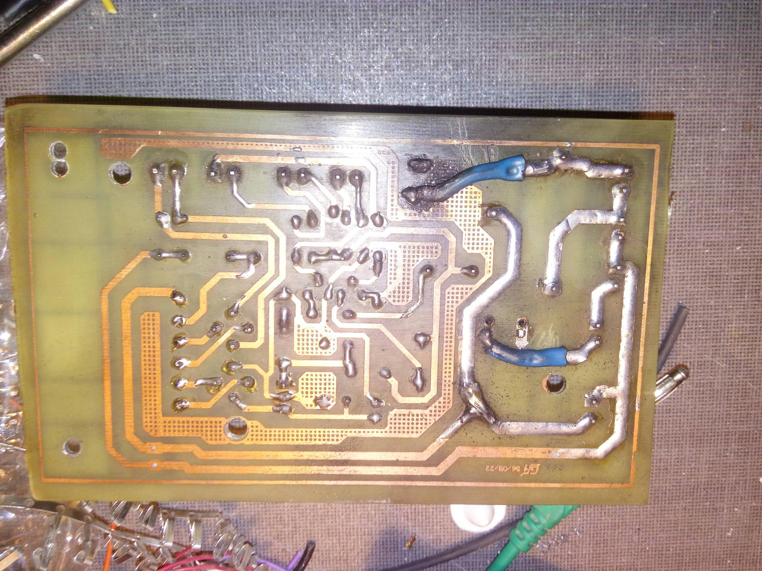 Pcb Why Are Copper Tracks Orangegold Electrical Engineering