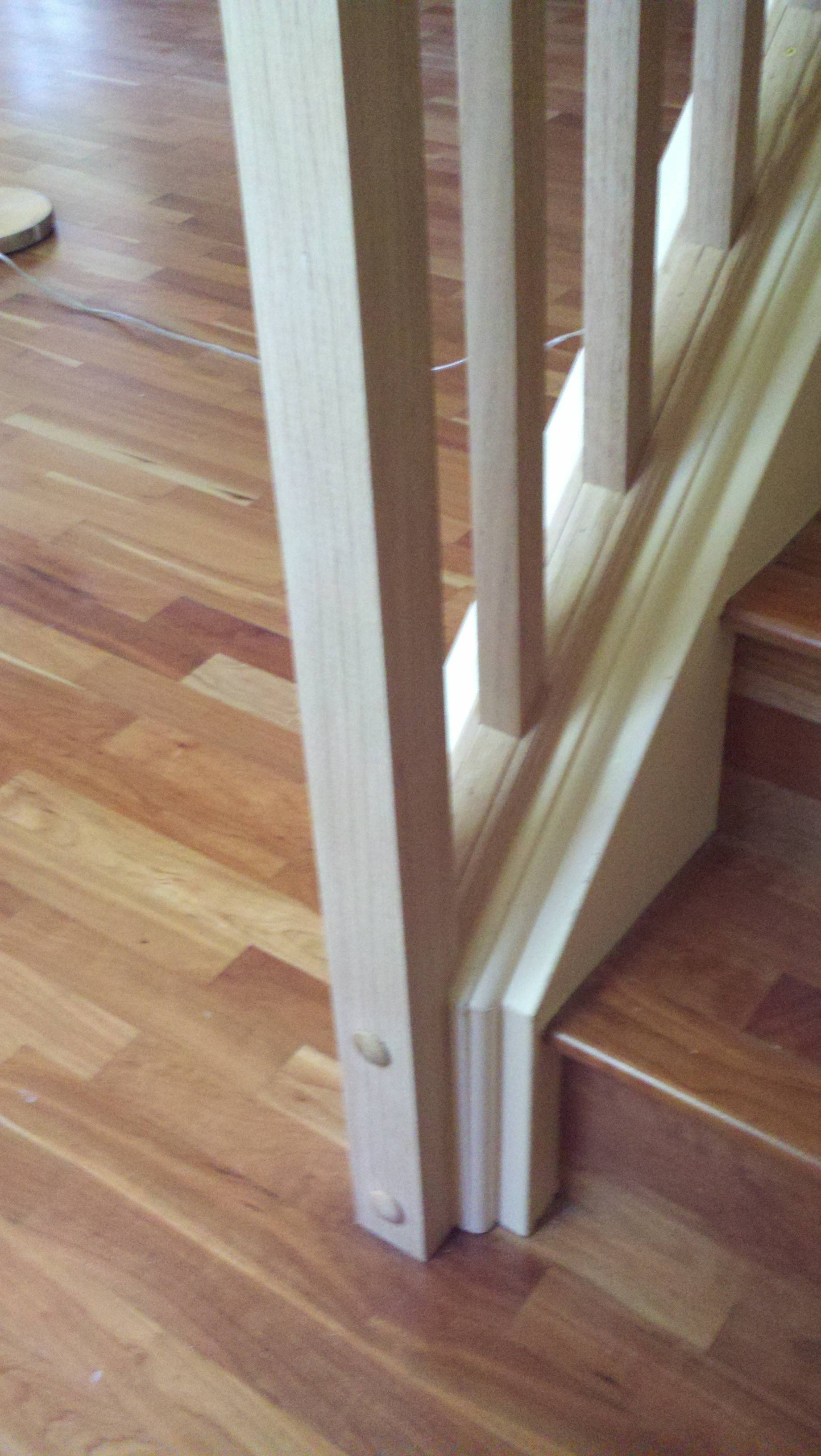 How Can I Set Up A Removable Stair Railing Home | Removable Handrail For Stairs