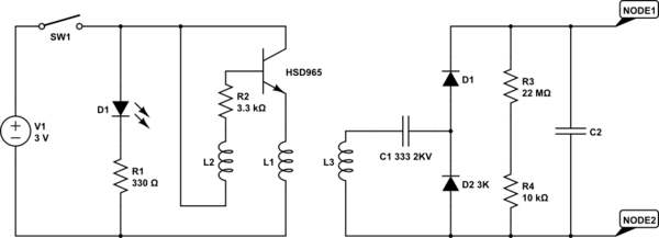 Capacitor How Does This Mosquito Zapper Circuit Work