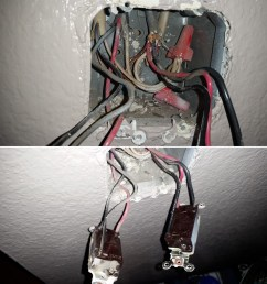 lighting trouble with wiring new switch to replace old switch old light switch wiring colours old [ 1624 x 1784 Pixel ]