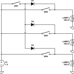 House Master Switch Wiring Diagram New Holland Tractor Homework Creating A Circuit With 3 Lights And 4 Switches 1 Schematic When
