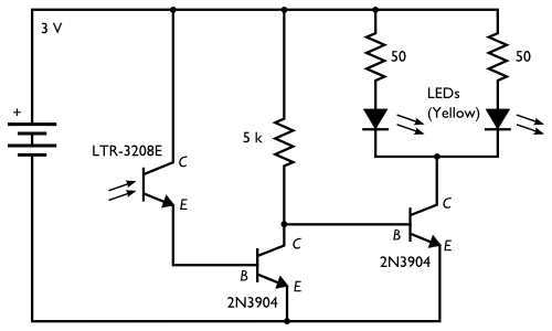 Half logic-output optointerrupter for driving mosfet dusk