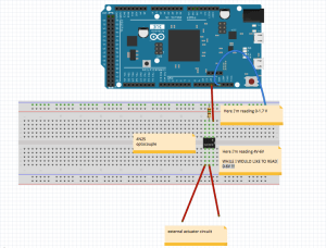 voltage level  Arduino DUE and optocoupler 4N25  Arduino