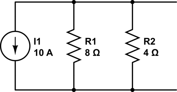 Why Ohm's Law and Kirchhoff Laws give different results