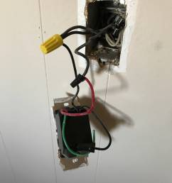 electrical changing a dimmer to single pole with three black and wiring single pole dimmer switch electrical [ 3024 x 4032 Pixel ]