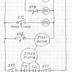 3 Phase Converter Wiring Diagram Nissan Almera Radio Diy Rotary With Starter Motor Cutout Relay In Enter Image Description Here