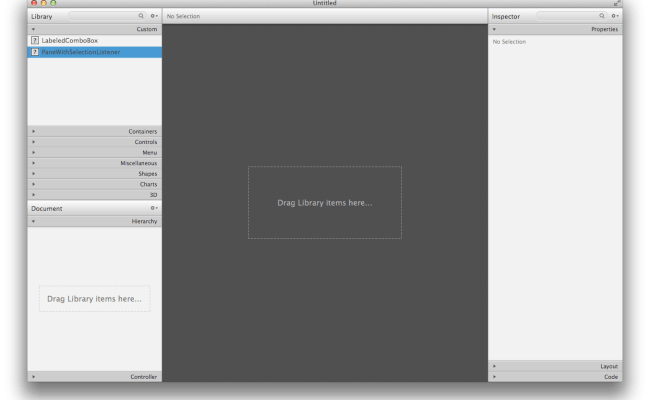 Javafx Adding A Custom Component To Scenebuilder 2 0