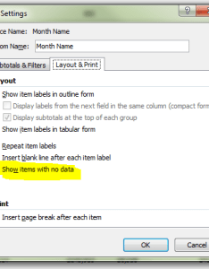 Pivot table field settings dialog box also excel powerpivot how do  show items with no data super user rh superuser