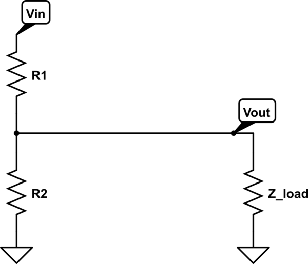 Reasons to use a voltage divider and regulator