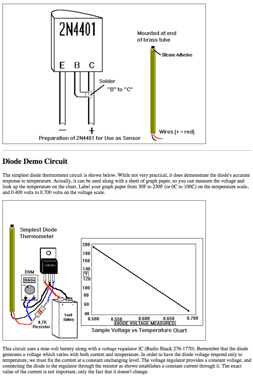 hight resolution of can i use a bc547 npn transistor as a thermometer