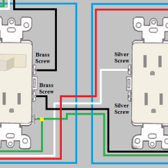 Gfci Switch Outlet Combo Diagram Xlr To 1 4 Mono Wiring Electrical - How Do I Wire A Duplex From Switch/outlet Combo? Home Improvement Stack ...