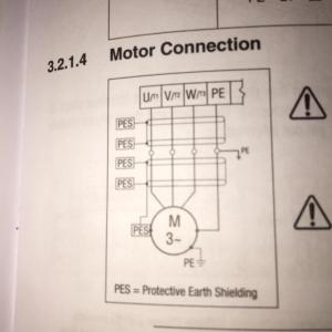 wiring  How to wire 3 phase motor to VFD  Electrical Engineering Stack Exchange