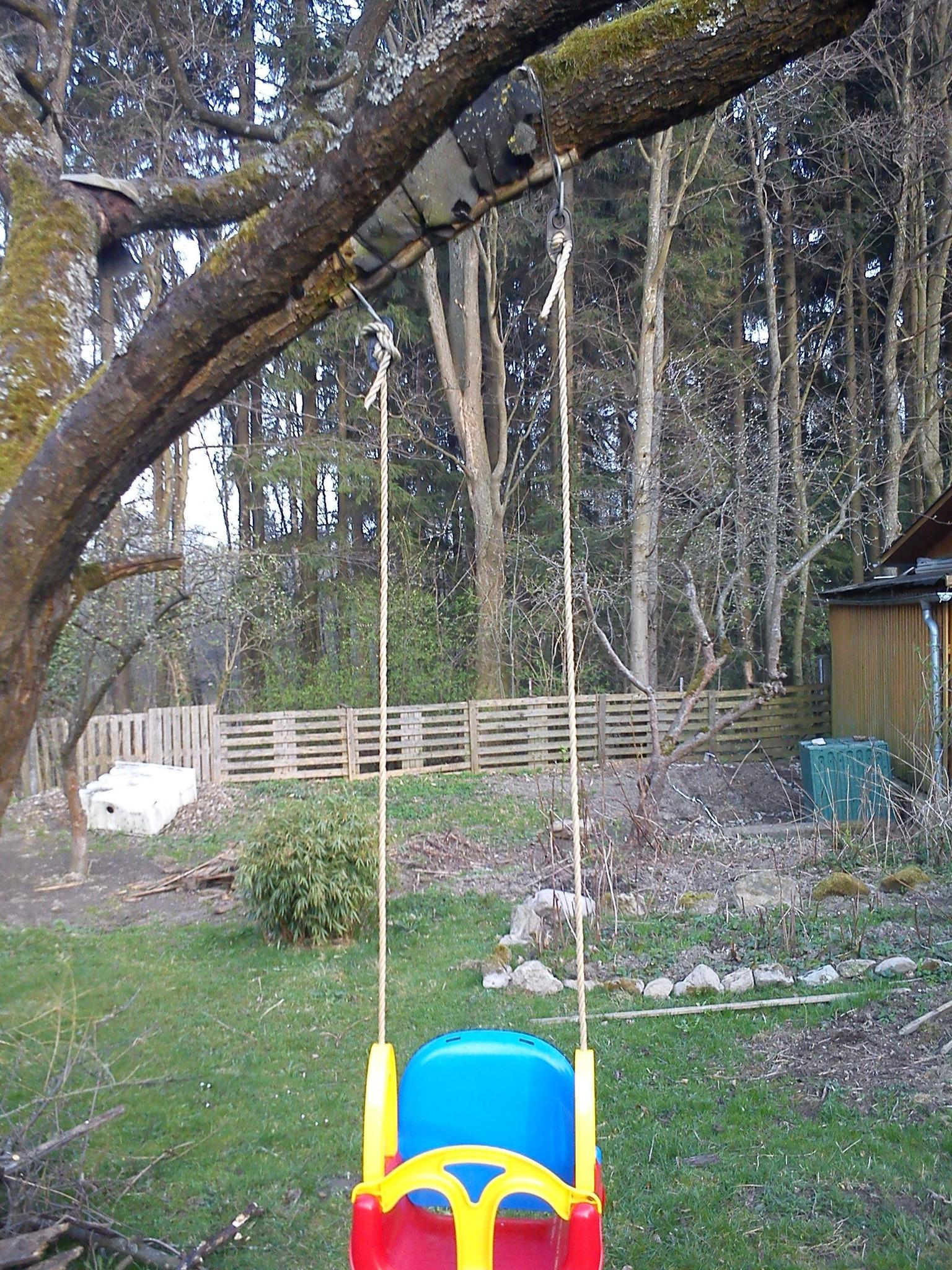 How To Hang A Baby Swing From A Tree : swing, Swing, Straight?, Improvement, Stack, Exchange