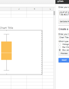 Box and whisker chart as below enter image description here also how do  create  plot in google spreadsheets web rh webappsackexchange