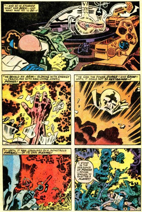 Origin of Galactus