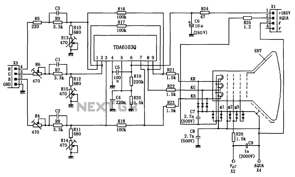 Colour Tv Circuit Diagram
