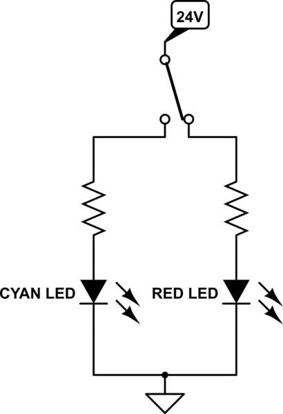 figure 24 led resistor circuit