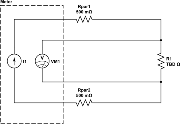 4 wire measurement circuit bass neck diagram how to measure a resistance very accurately electrical schematic this