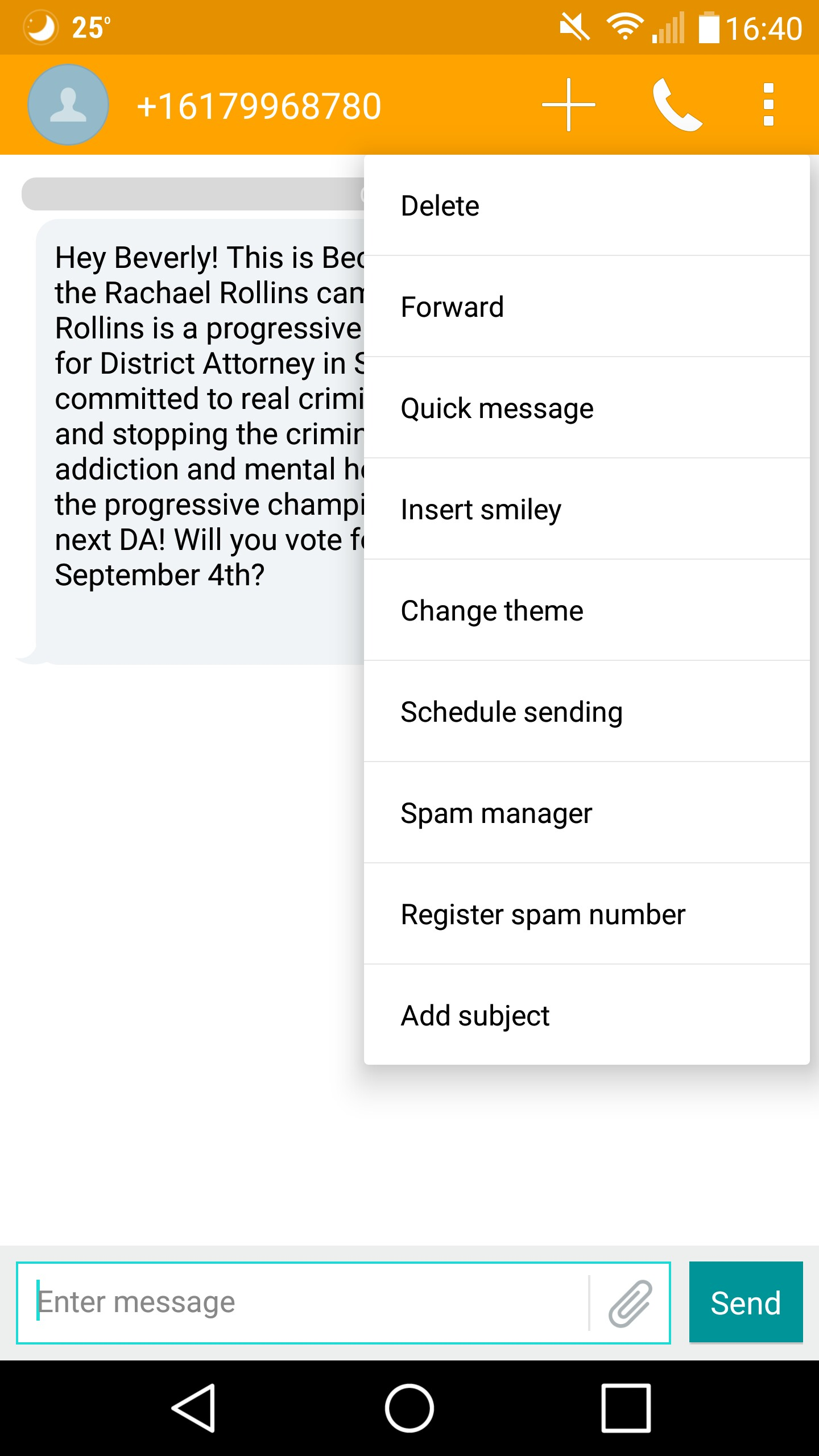 How To Spam A Phone Number With Texts : phone, number, texts, Phone, Number, Sender, Message, Android, Default, Messaging, Program?, Enthusiasts, Stack, Exchange
