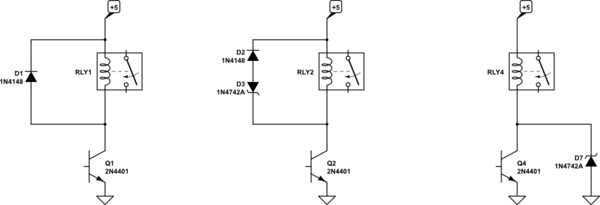 Are my calculations for flyback diode/s corret
