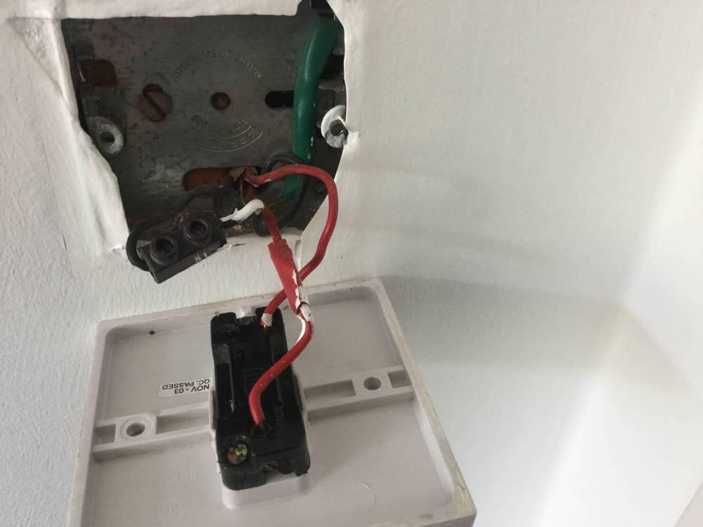 medium resolution of dimmer switch old wiring