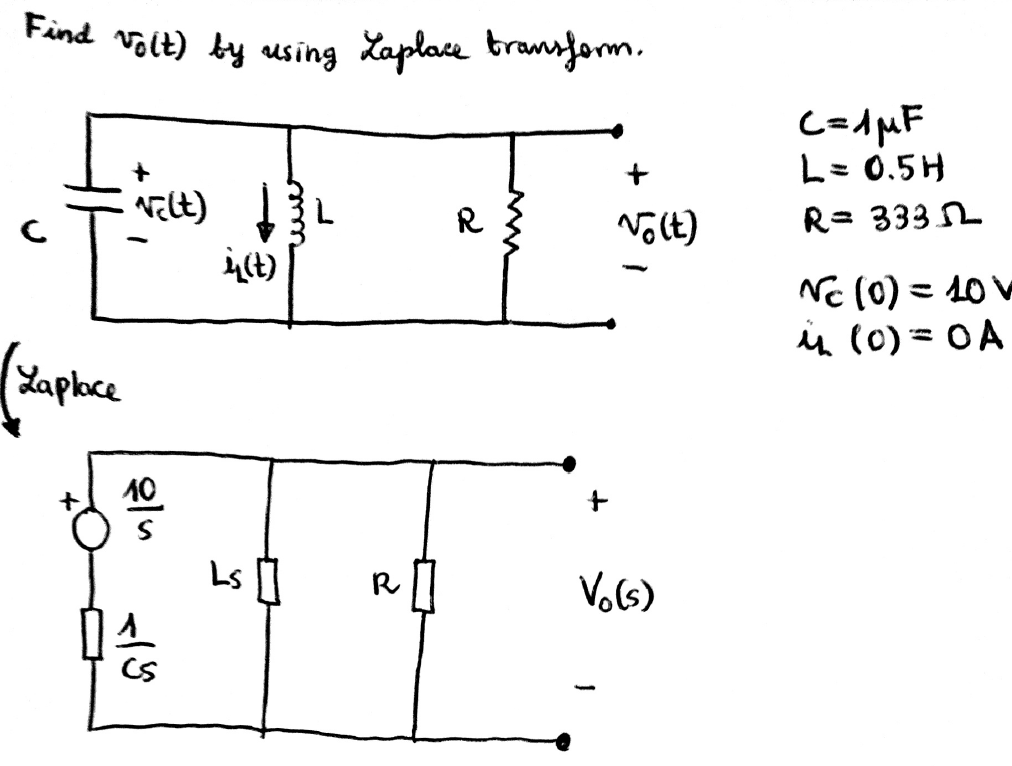 phasor transforms and circuit analysis