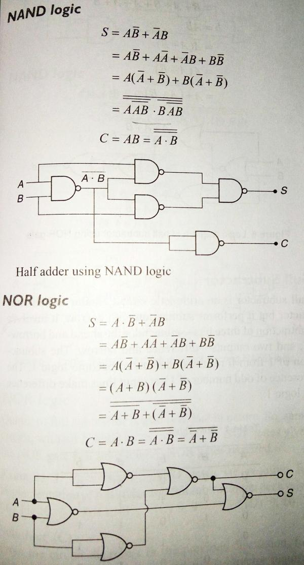 Ab C D Circuit Diagram How To Implement A Function Using Just Nand Or Nor Logic