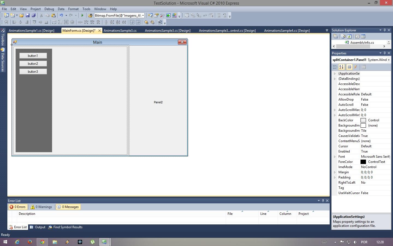 Winforms C Remove SplitContainer Border Stack Overflow