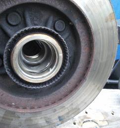 2001 f150 4 6l 2wd front wheel bearing replacement motor vehicle 2006 f150 wheel bearing diagram [ 2125 x 1594 Pixel ]