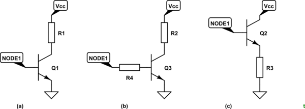 Transistors basic question, Voltage is confusing me