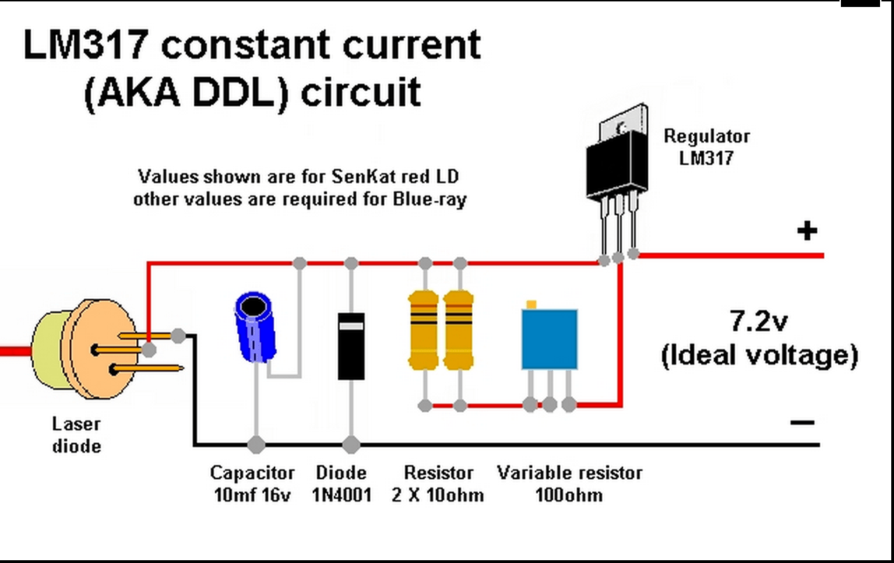 hight resolution of lm317 constant current circuit