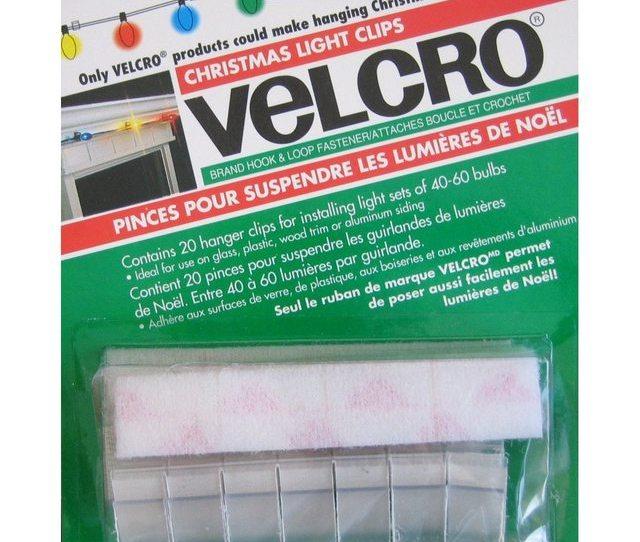 Would Velcro Christmas Light Hooks Work I