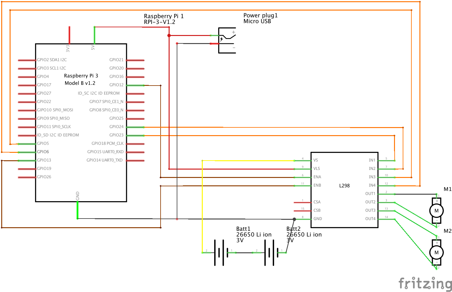 l298 h bridge circuit diagram car aircon electrical wiring manual e books libraryl298
