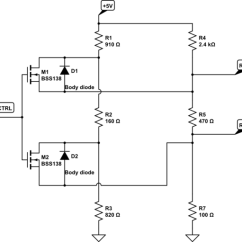 Rs485 To Usb Converter Circuit Diagram Evolution Branching Tree Selectable Termination Device - Electrical Engineering Stack Exchange