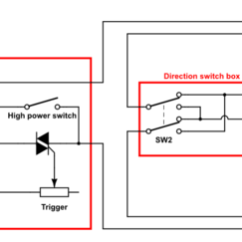 Single Phase Ac Motor Forward Reverse Wiring Diagram Puch How Does The Circuit Of A Basic Variable Speed Electric Schematic