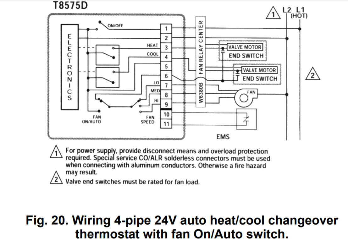 Honeywell Thermostat Wiring Diagram 8 Wire : Diagram