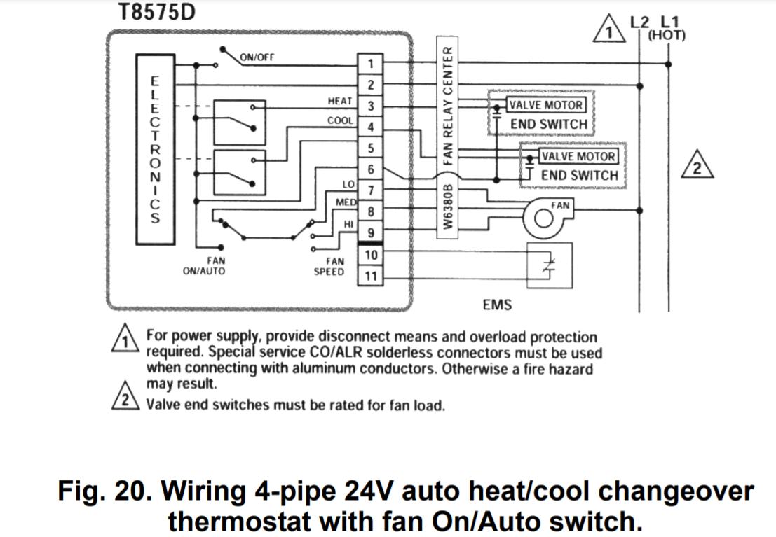 Honeywell Thermostat Wiring Diagram 8 Wire : Diagram