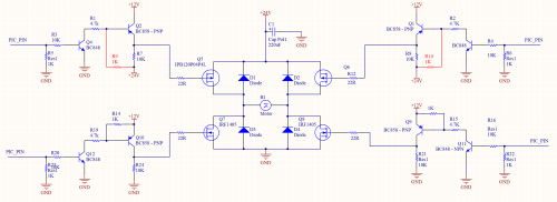 small resolution of and here the sample h bridge schematic diagram with mosfet schema diagram further h bridge motor driver on h bridge inverter schematic