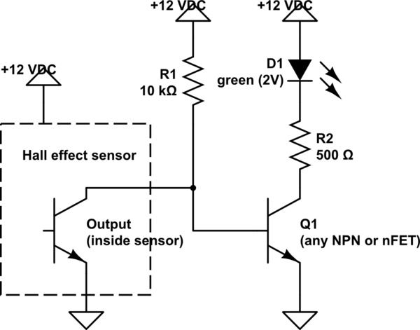 Hall Effect Sensor Schematic Speed Sensor Schematic