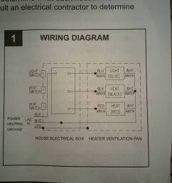 electrical wiring bathroom exhaust fan with heater home wiring diagram for bathroom heater fan light schematic [ 2432 x 3286 Pixel ]