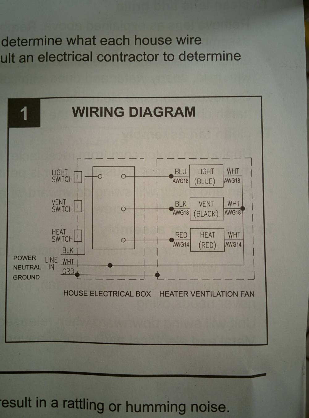 medium resolution of electrical wiring bathroom exhaust fan with heater home wiring diagram for bathroom heater fan light schematic