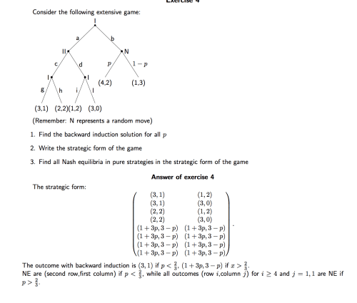 small resolution of how to find nash equilibrium in a tree diagram