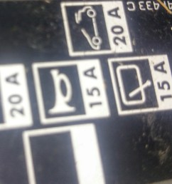 where and what are the fuses in renault megane grande scenicbox fuse icons left fuse icons right st motor vehicle maintenance u0026 repair stack  [ 2539 x 1487 Pixel ]