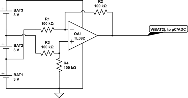 single cell voltage monitor circuit diagram