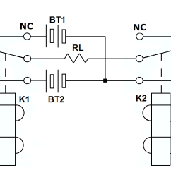 spdt relay wiring with the two spdt relays wiring diagram local spdt relay wiring with the two spdt relays [ 1052 x 784 Pixel ]