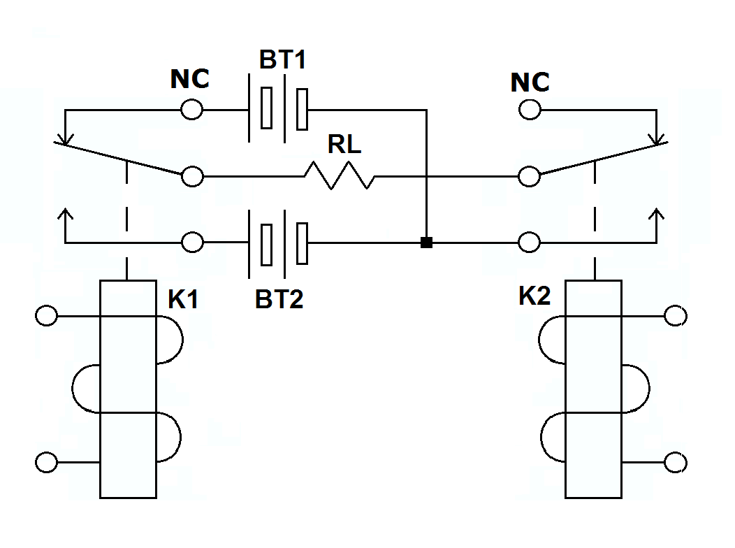 dpdt relay wiring diagram mk4 gti radio switches making relays from 2 spdt