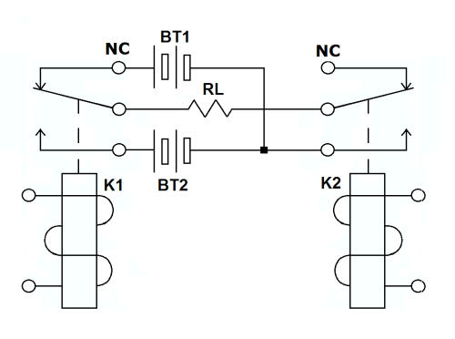 small resolution of spdt relay wiring with the two spdt relays wiring diagram local spdt relay wiring with the two spdt relays