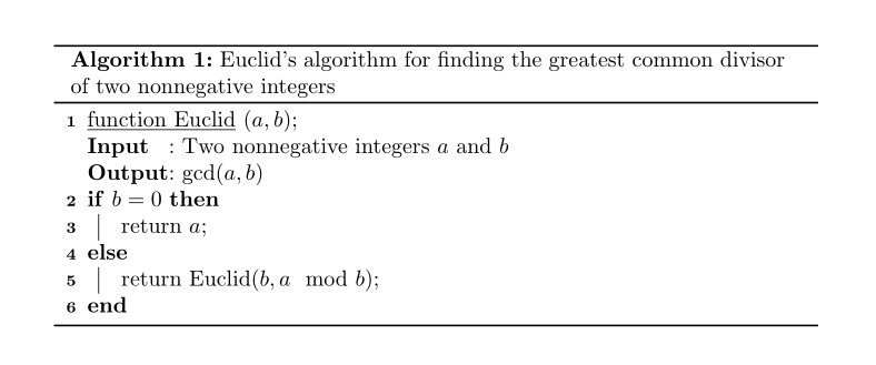 How To Format A Pseudocode Algorithm TeX LaTeX Stack