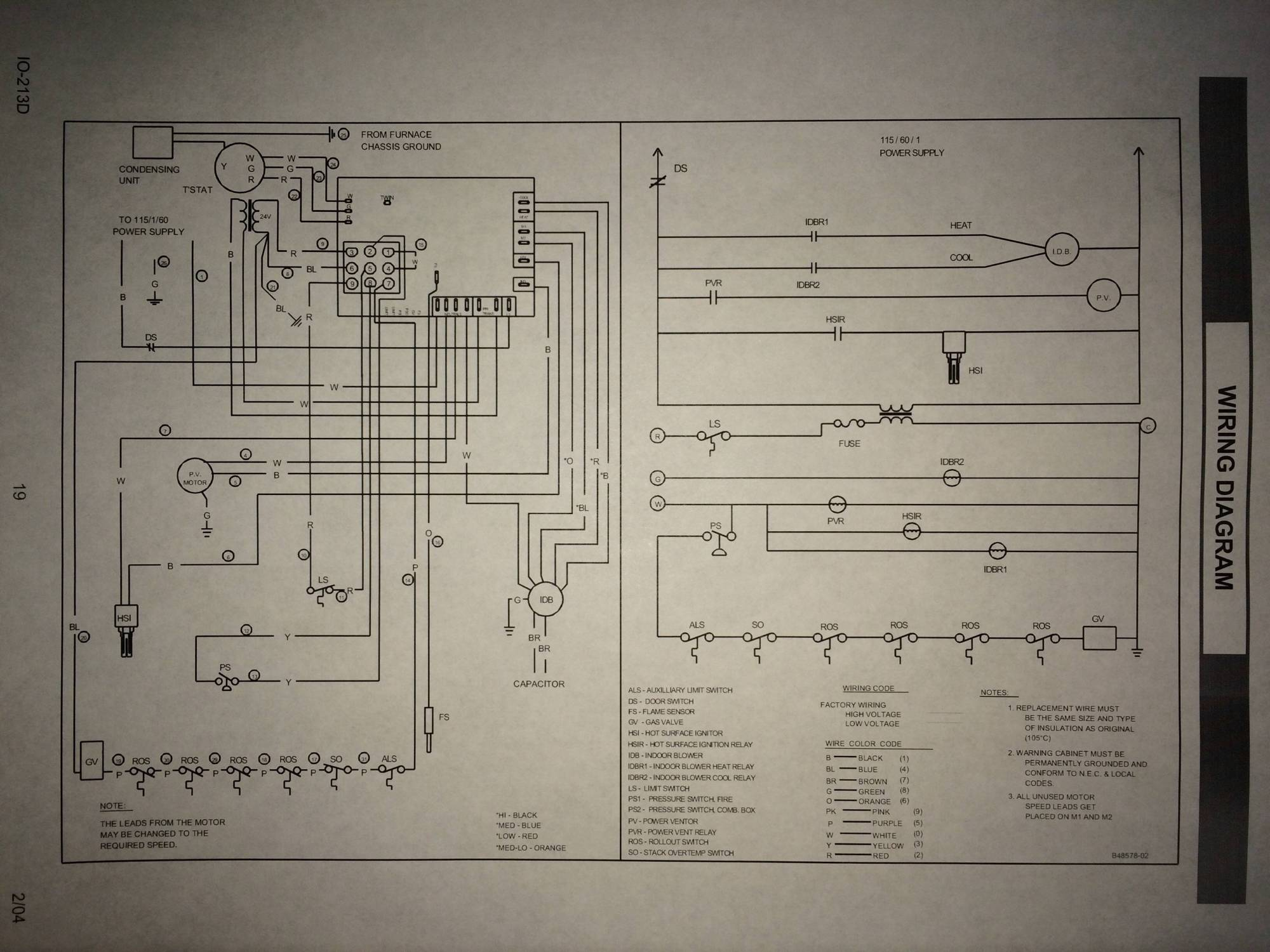 hight resolution of  no c wire connection on old goodman furnace home improvement stack goodman manufacturing wiring diagrams